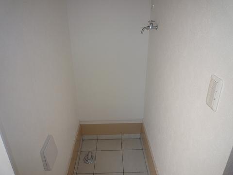 メゾンドソレイユC洗濯機置き場