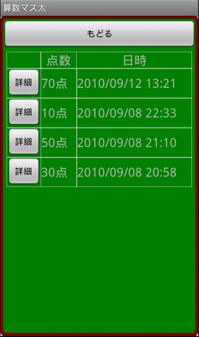 算数マス太_おさらい履歴