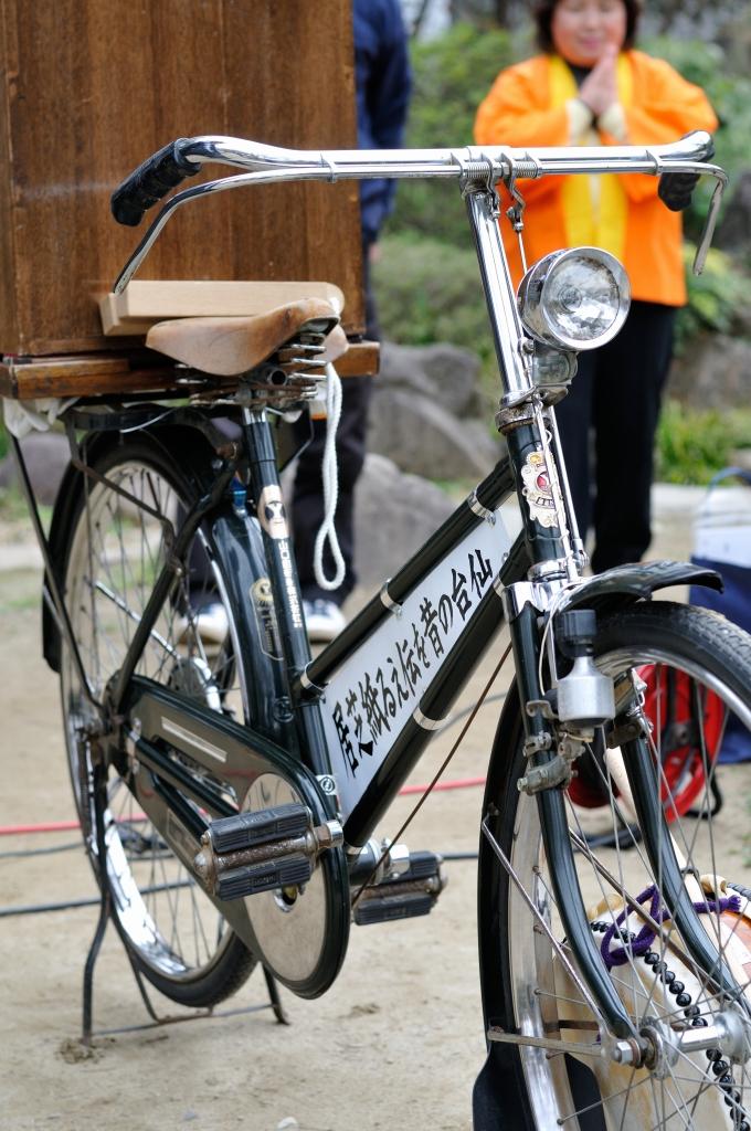 紙芝居自転車