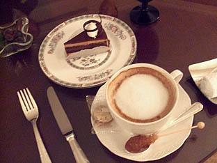 雪麿Lounge-チョコケーキ