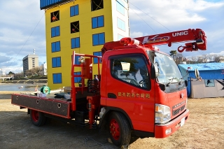 防災車 資材運搬車