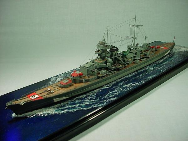 タミヤ 重巡洋艦プリンツ・オイゲンその2