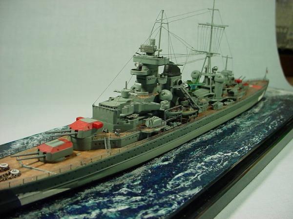 タミヤ 重巡洋艦プリンツ・オイゲンその3