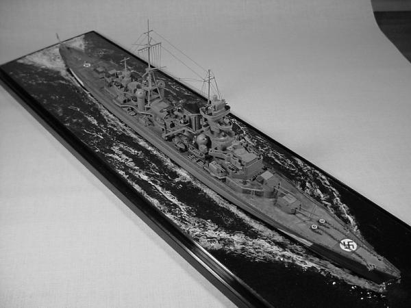 タミヤ 重巡洋艦プリンツ・オイゲンその1