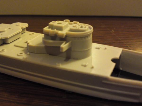 フジミ 装甲艦ドイッチュランドその6