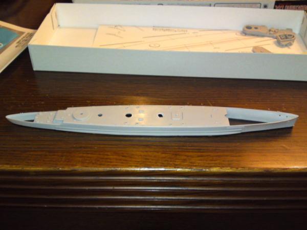 フジミ 装甲艦ドイッチュランドその3