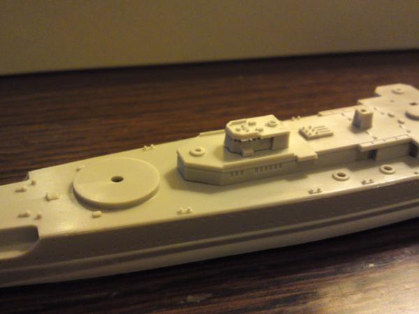 フジミ 装甲艦ドイッチュランドその7
