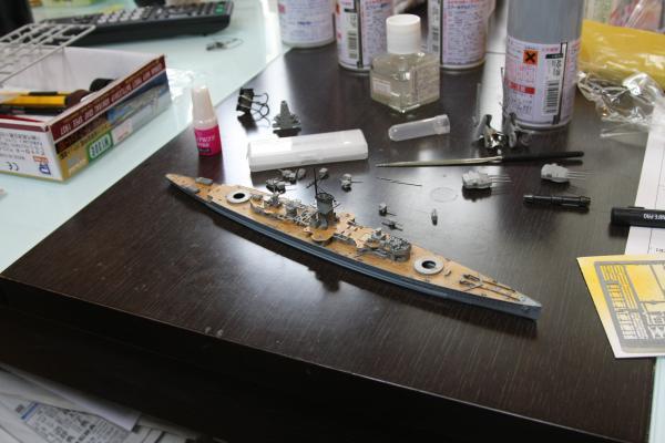 ピットロード 装甲艦アドミラル・グラーフ・シュペーその9