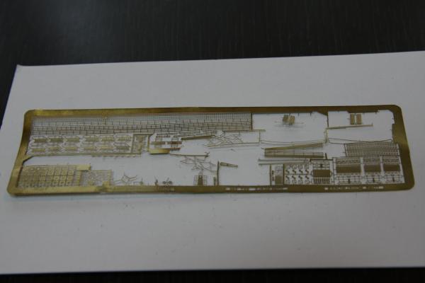 タミヤ 巡洋戦艦グナイゼナウその3