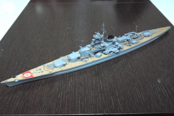 タミヤ 巡洋戦艦グナイゼナウその16