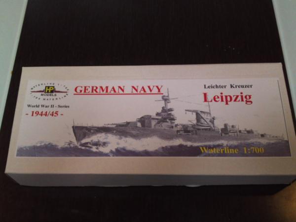 HPモデル 軽巡洋艦ライプツィヒその1