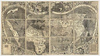 waldseemueller 12分割地図