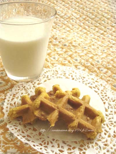 Waffle with Milk