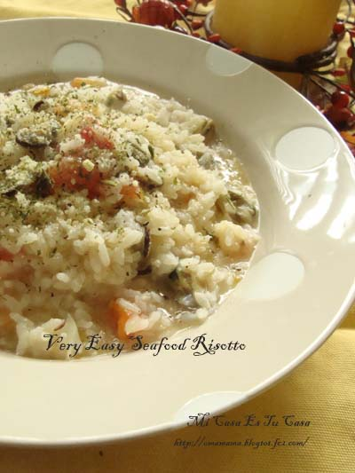 Very Easy Seafood Risotto