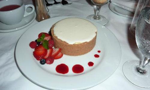 1401ルースクリスステーキハウスのチーズケーキ