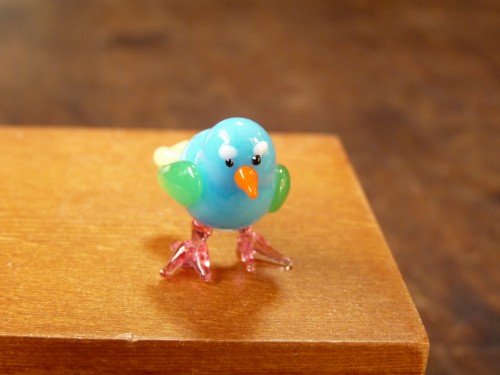 ガラス細工-鳥・その23-1