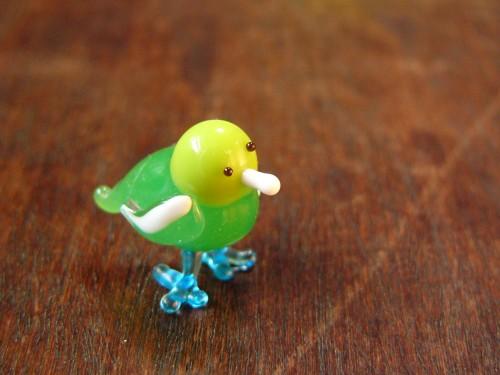 ガラス細工-鳥・その19-4