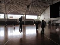 バスケ朝練習2
