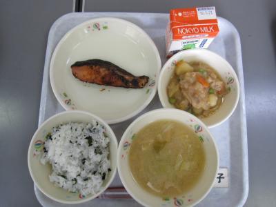 最後の給食1