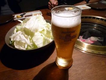20110629YAKINIKUYAMATYAN_beer.jpg