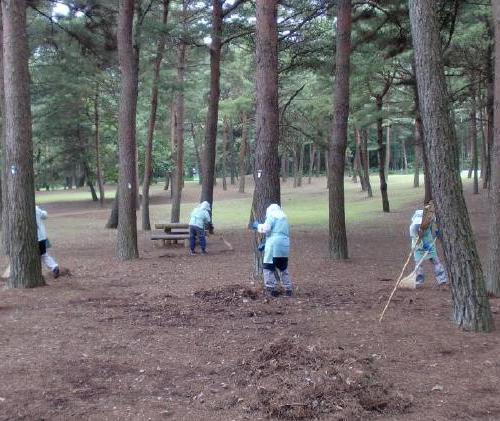 変換 ~ 公園掃除1