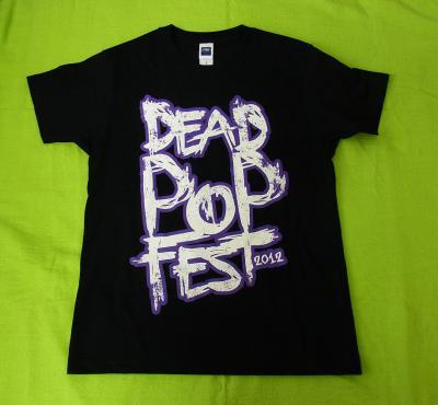 DEAD POP T back