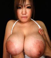 超巨乳輪!木咲美琴チャン Jカップ110cmのおっぱい♪