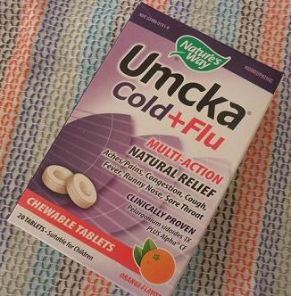 Umcka Cold+Fluオレンジ味