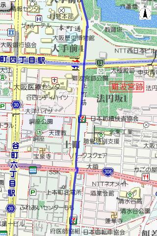 大阪マラソンコース2