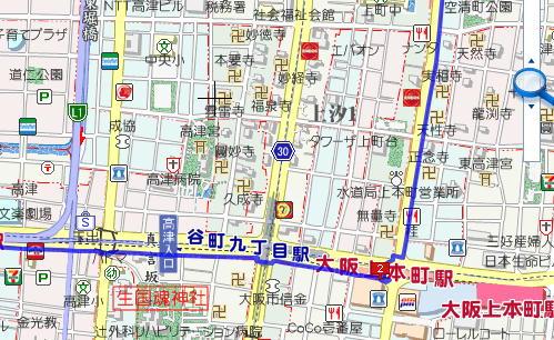 大阪マラソンコース3