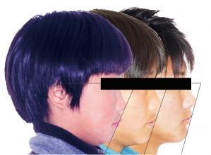 横顔マスク
