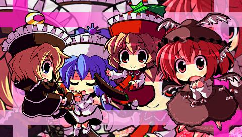 プリズムリバー三姉妹+ミスティア1(PSP)