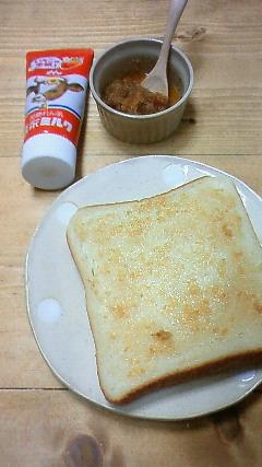 生姜練乳トースト