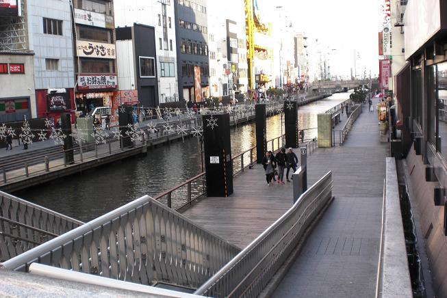 とんぼり川