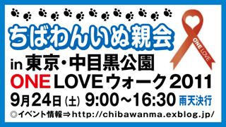 ONE LOVE in Tokyo2011 WALK