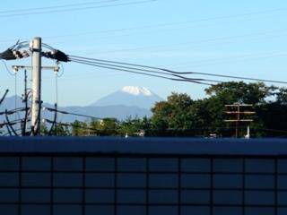 雪の富士山 2010 11.2