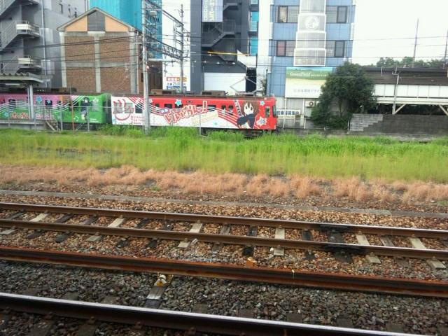 けいおん!電車
