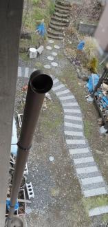 2013 雨樋の縦樋