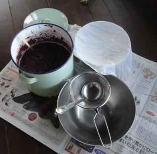 201411 ブドウ液しぼりセット