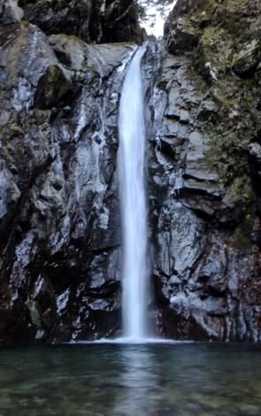 エビラ沢の滝F1