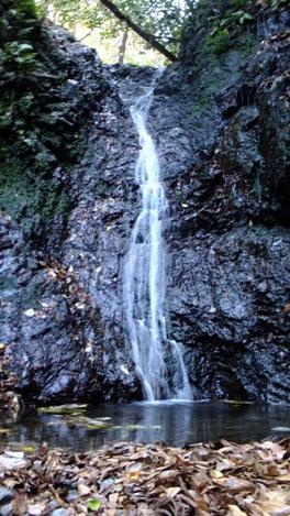 大月沢の滝