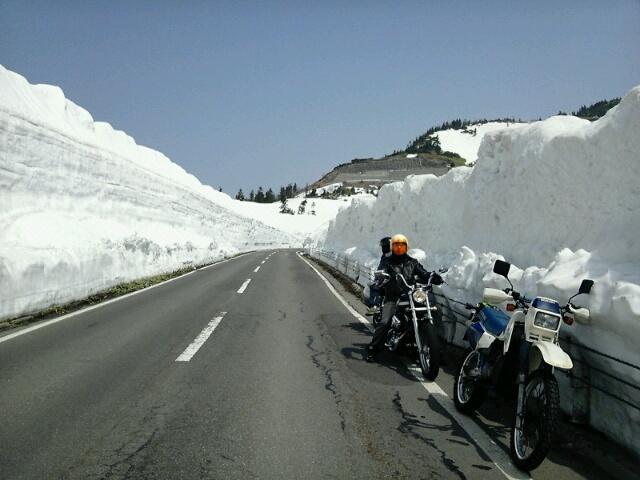 雪の回廊・・帰ろう?