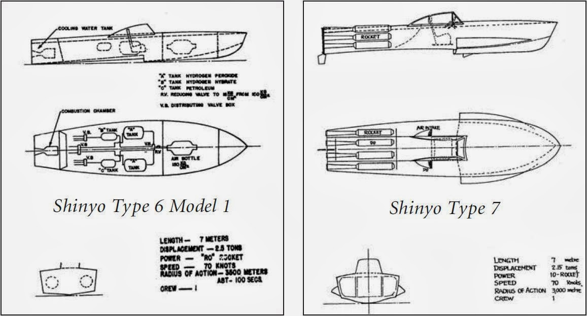 Shinyo Boats Types 6-7