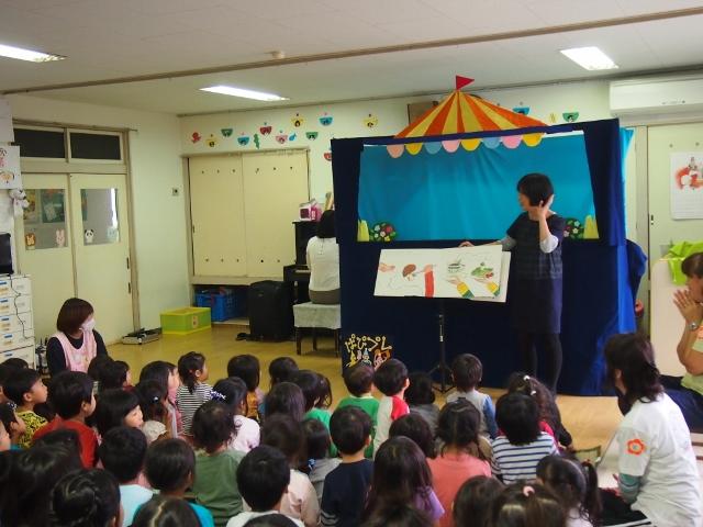 2014.11.06 稲瀬川保育園 絵本