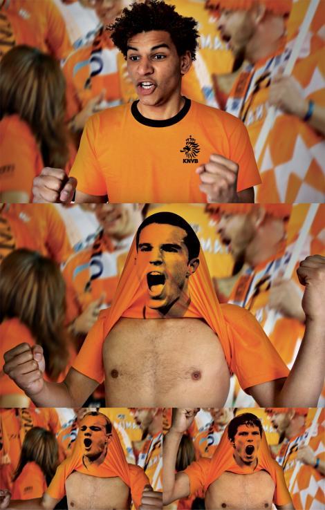 adsoftheworld.com のサッカーTシャツコンセプト