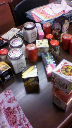 雑貨や紅茶