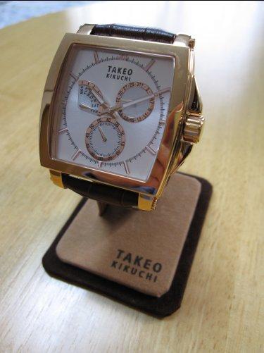 タケオキクチ時計