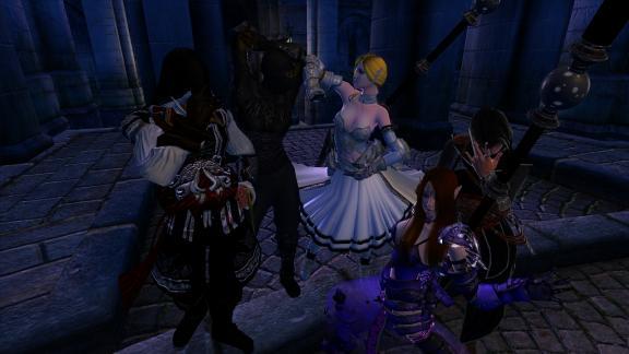 深夜の盗賊団
