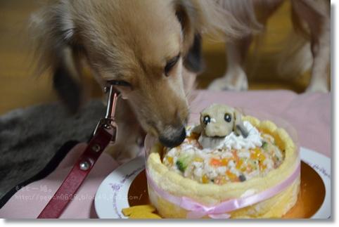 お誕生日ケーキ 074