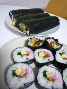 120203 巻き寿司01